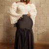 Olivia Gold Top and Adey Skirts
