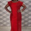 Red Mesh Maxi