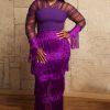 Megan Dress (Purple)