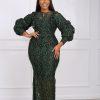 Isioma Dress (GREEN)