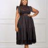 MEG DRESS (BLACK)