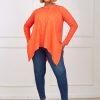 amina top (orange)