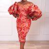 Teni Dress (red)