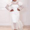 Aliyah Dress (white)