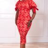 WURA DRESS (RED)